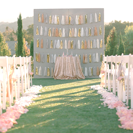 WEDDING CHICKS | MODERN SPARKLE WEDDING