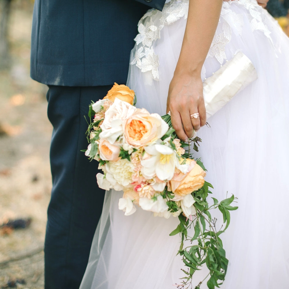 THE KNOT NORTHERN CALIFORNIA | COLORFUL NAPA WEDDING
