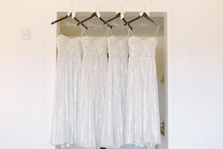 "The biggest secret to finding gorgeous dresses for your maids, is to "" rent the runway "", I always suggest this to our brides that have designer taste!"