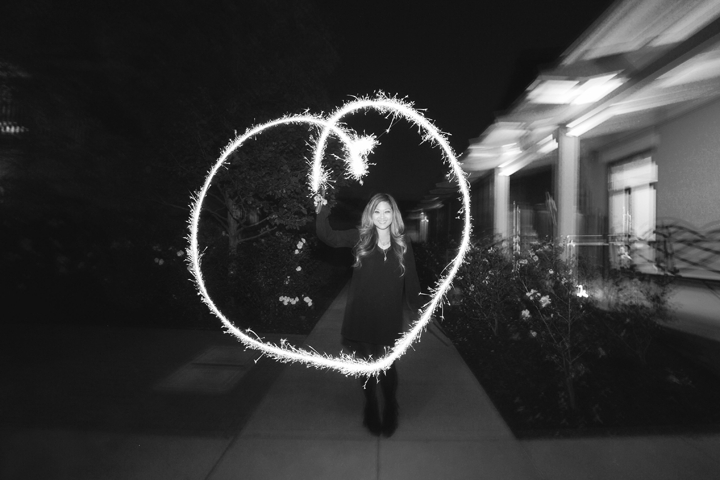 This is my attempt at making a heart with my sparkler....had to include this one in this blog post =)