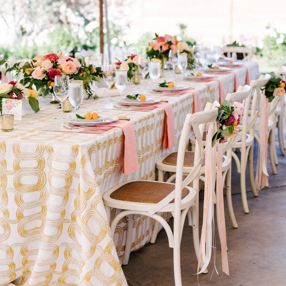 COLORFUL SONOMA TENTED WEDDING