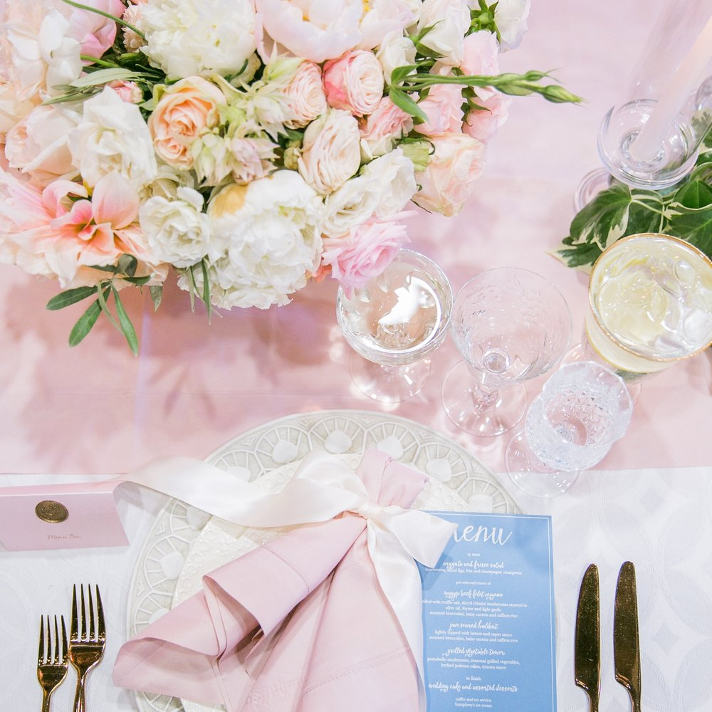 STYLE ME PRETTY | PANTONE WEDDING WITH CHARLIE THE PUG