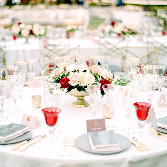 STYLE ME PRETTY | ROMANTIC, BLUSH AND MARSALA WEDDING