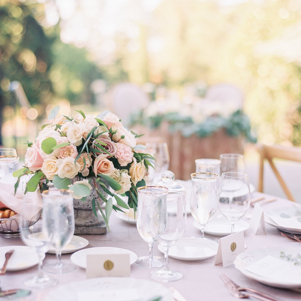 ROMANTIC, MAUVE WEDDING AT VILLA MONTALVO