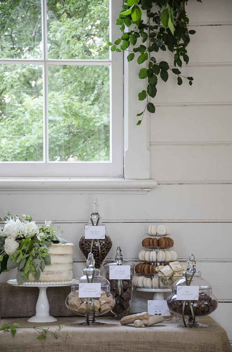 styled photoshoot  candy buffets by design
