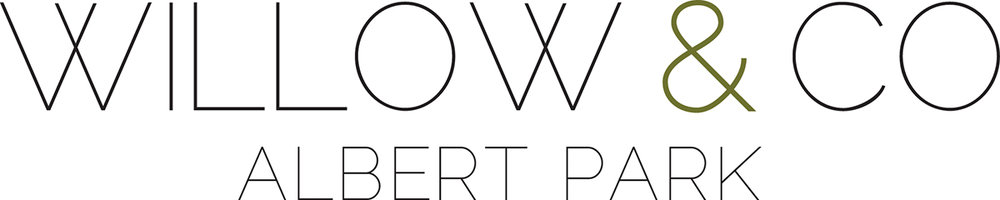 willow & co homewares  branding