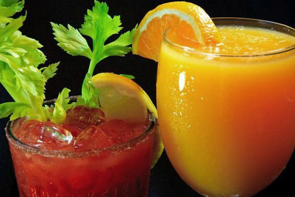 Bottomless Bloody Mary's & Mimosas $15