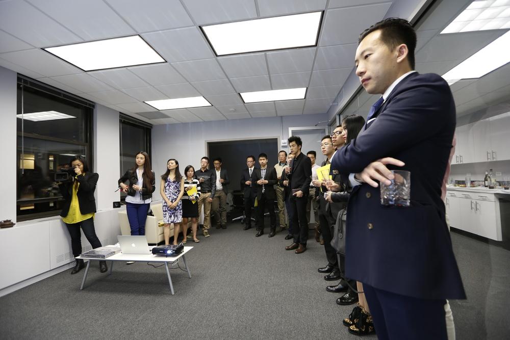 《月滿華爾街 心系我中華》暨紐約新澤西中國學生學者聯合會·主席聯誼會