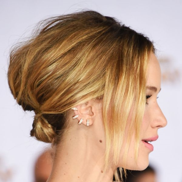 Jennifer Lawrence sporting an ear cuff