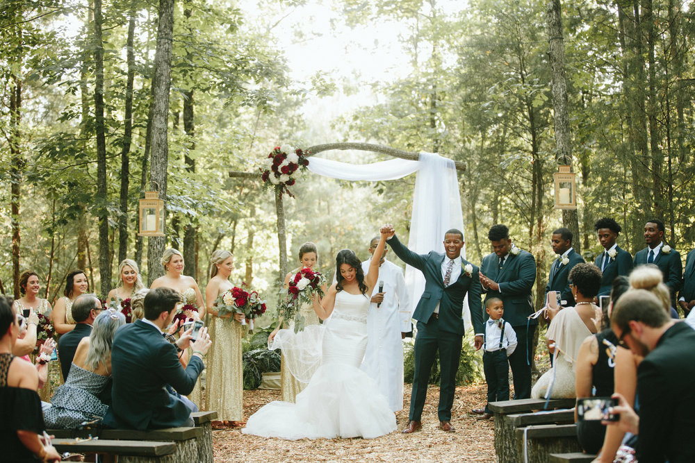 Wedding in the Woods -