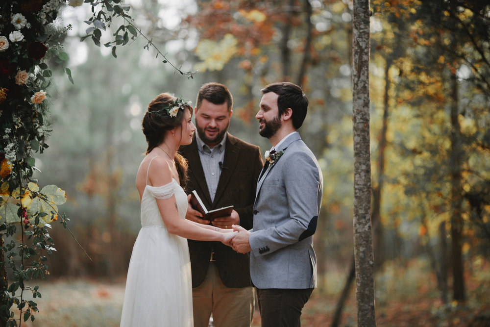 Fall Wedding - Romantic & Whimsical