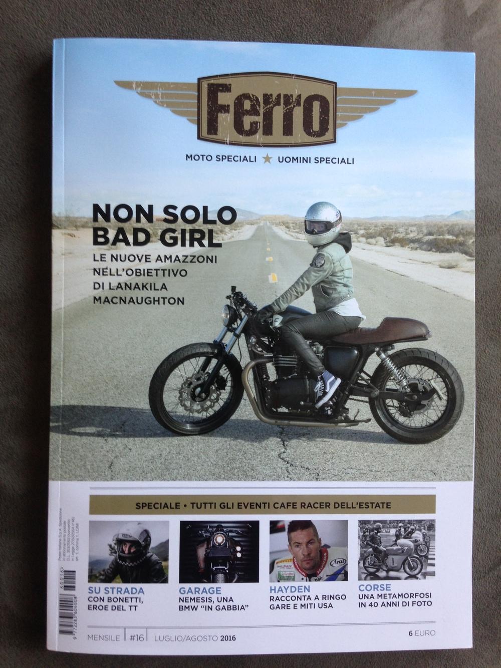 Ferro Magazine Becky Goebel