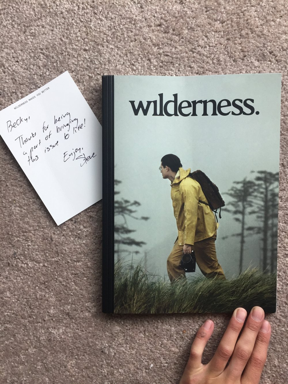 Wilderness Magazine Becky Goebel