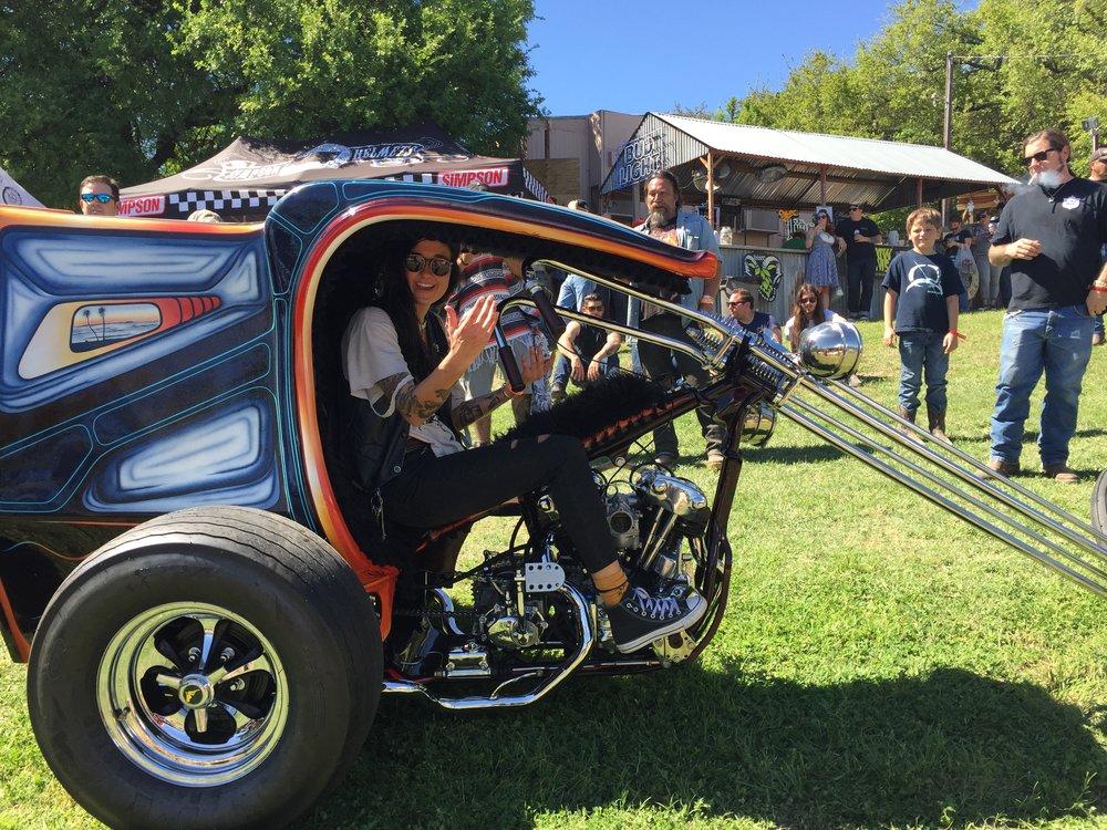 JP Roadman's Knucklehead Trike