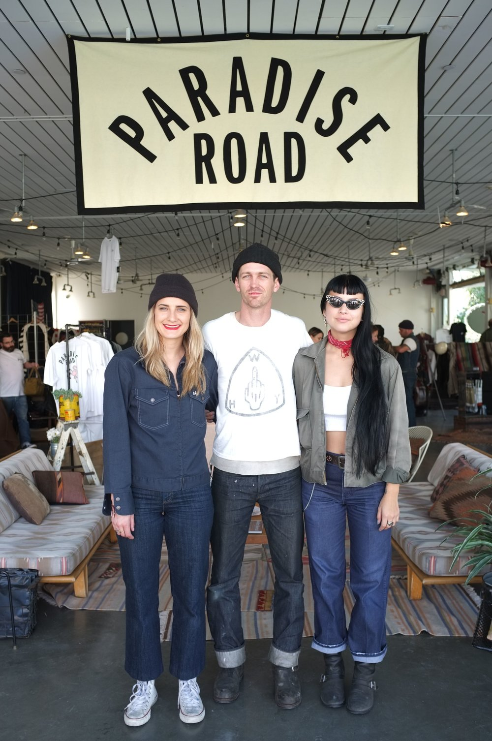 Lana MacNaughton, Chase Stopnik and Adri Law: The organizers of Paradise Road Show
