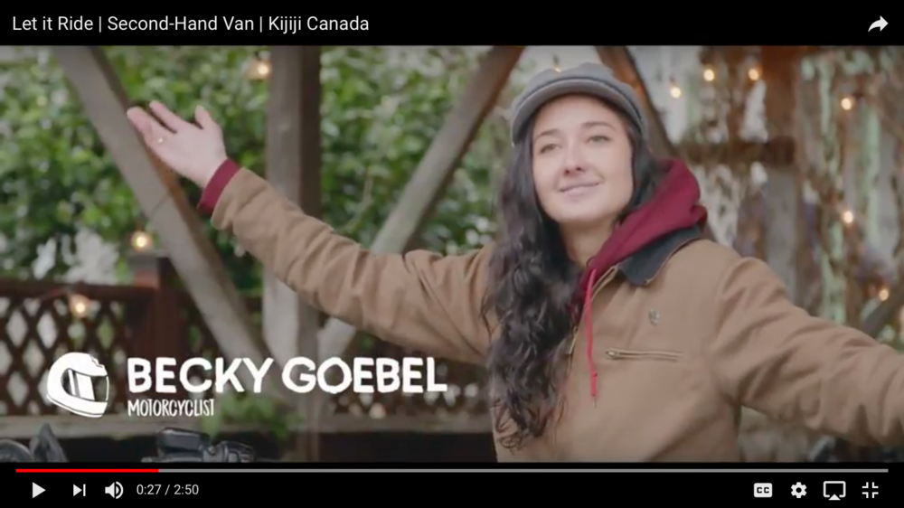 Becky Goebel, Second-Hand Van Kijiji