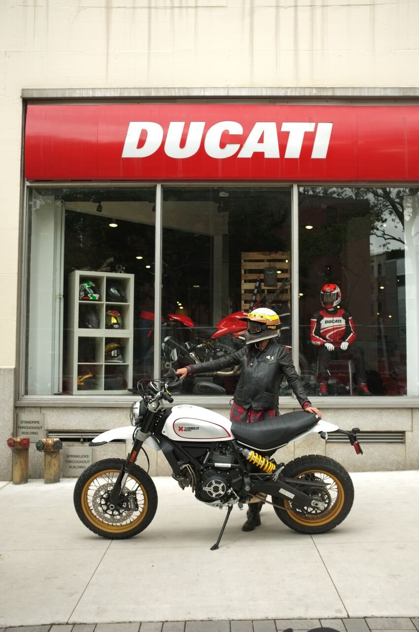 My bike for the week: Ducati Scrambler Desert Sled