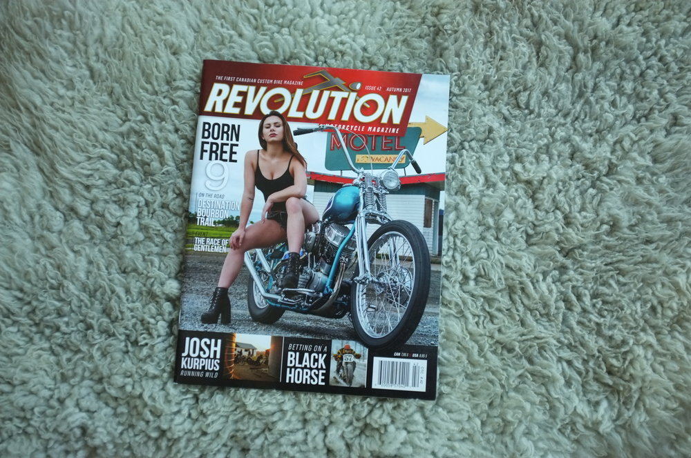 Becky Goebel - Revolution Motorcycle Magazine