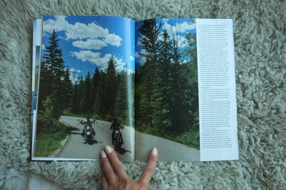 Page 5 & 6 of HOG Magazine - Words by Becky Goebel