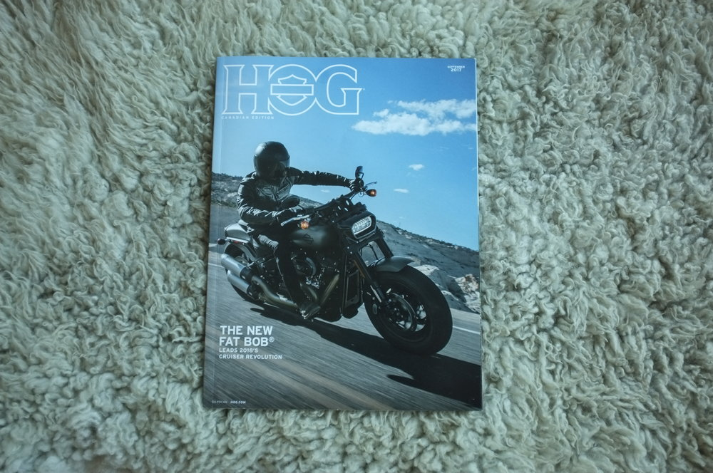 Cover of HOG Magazine September 2017