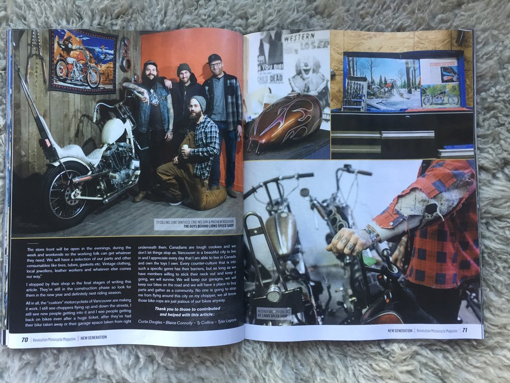 Becky Goebel Revolution Motorcycle Magazine