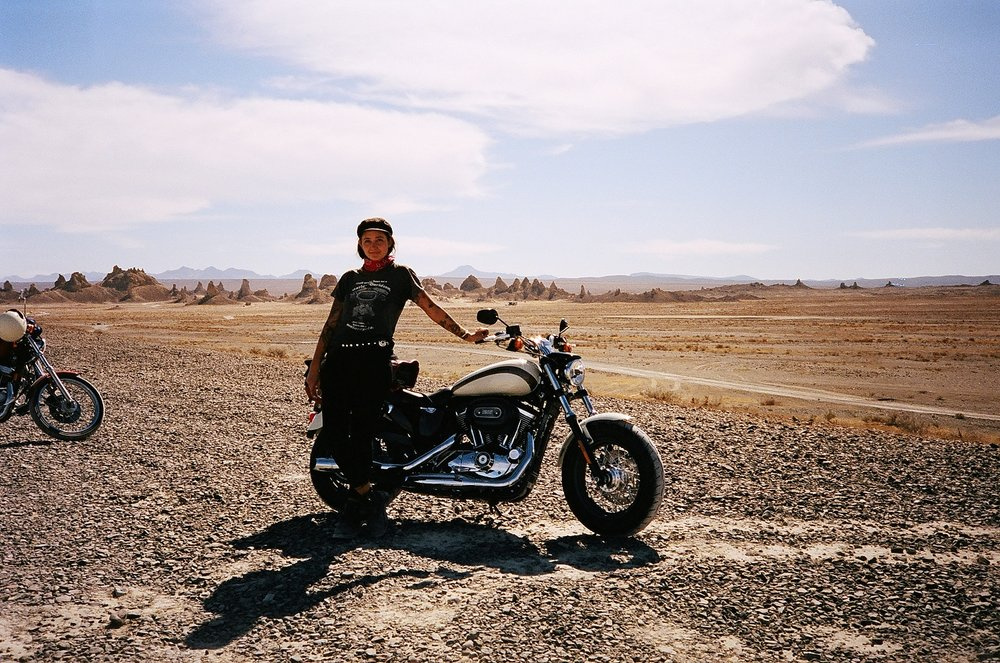 Becky Goebel 35mm Trona Pinnacles
