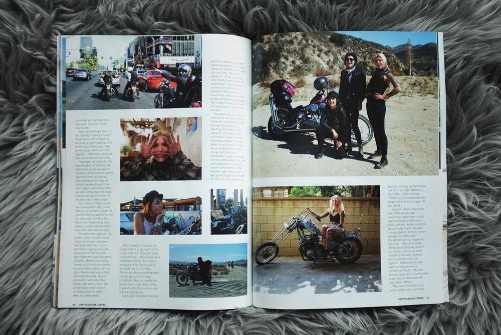 HOG Magazine // Becky Goebel