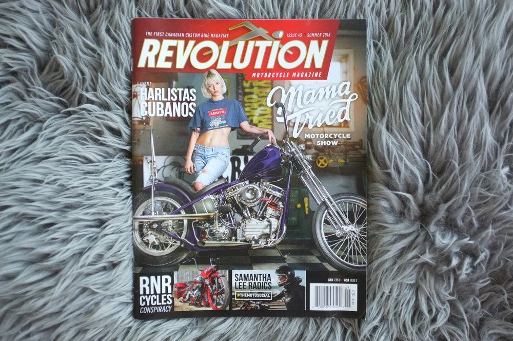 Revolution Motorcycle Magazine // Becky Goebel