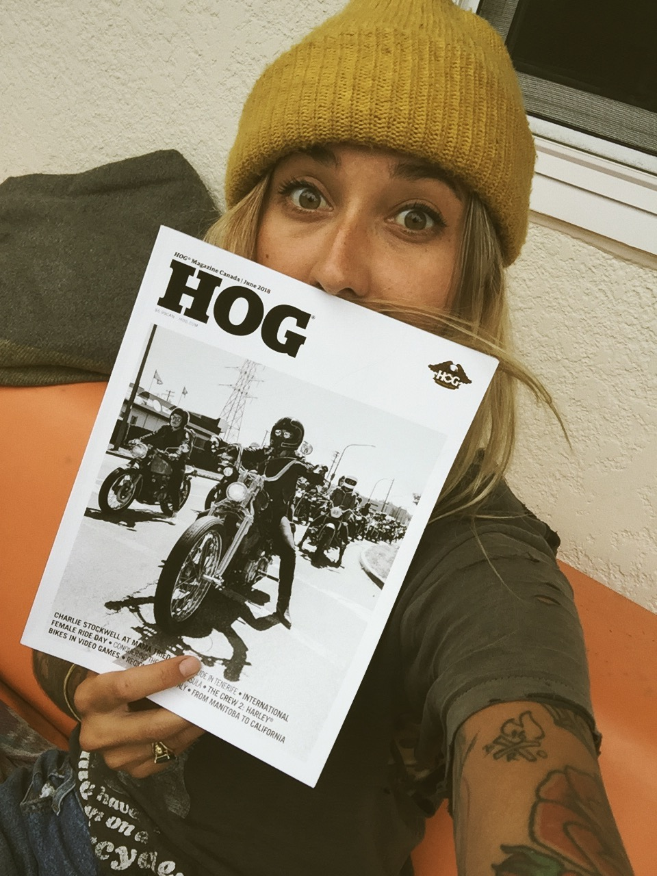 HOG Magazine // Becky Goebel & Ashley Barker