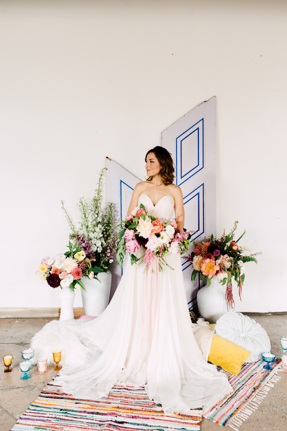 Boho wedding inspiration florals by: @thedaintylion photo by: @elysewhall