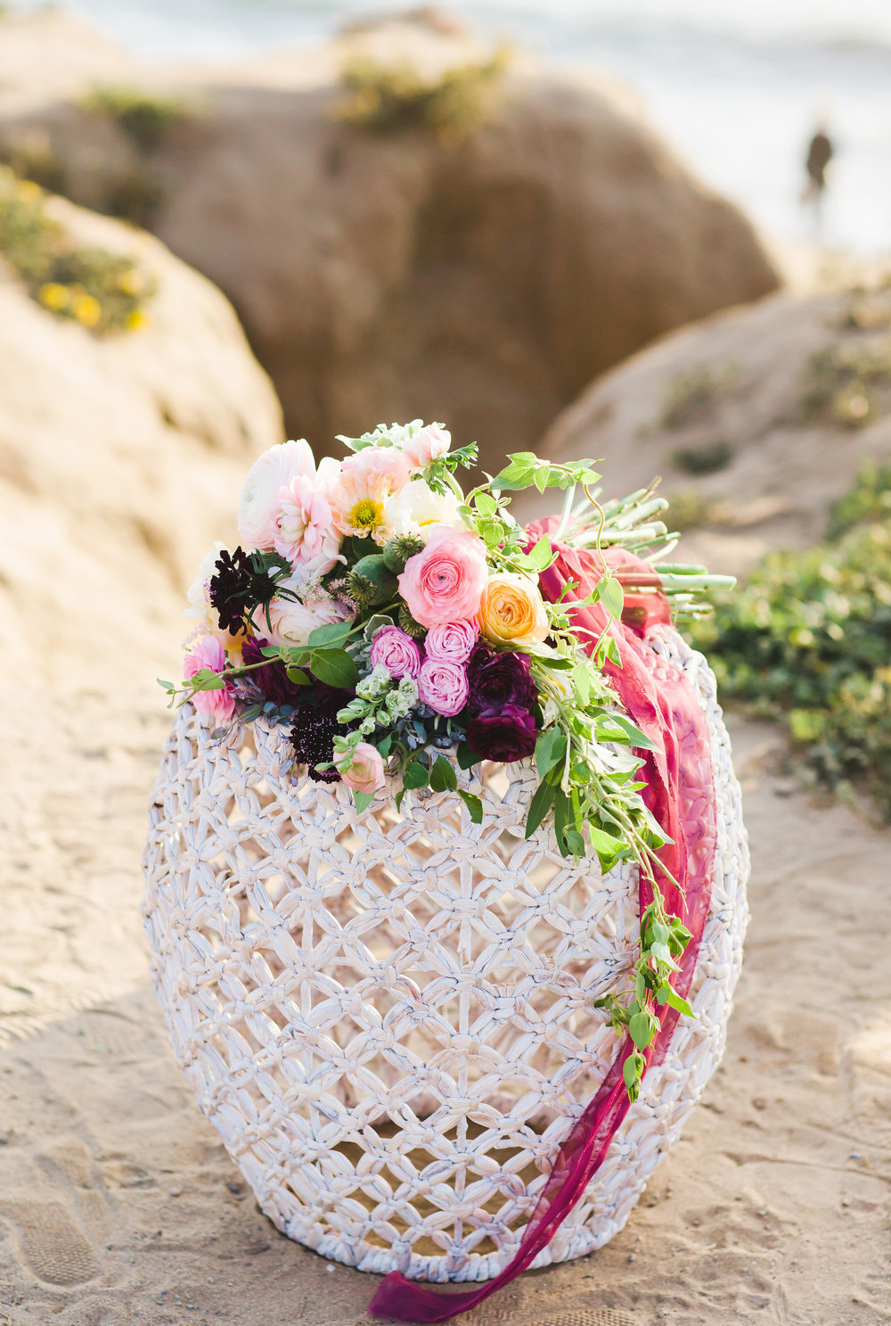 Sunset Cliffs San Diego Sweetheart Table