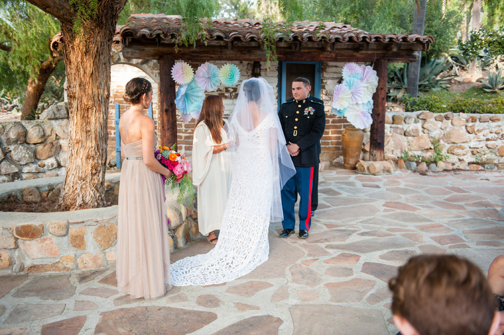 Leo Carrillo Ranch Mexican Fiesta Wedding