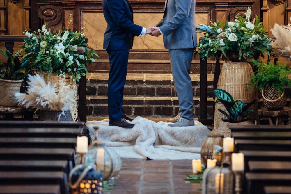 Museum of Man Gay Wedding San Diego