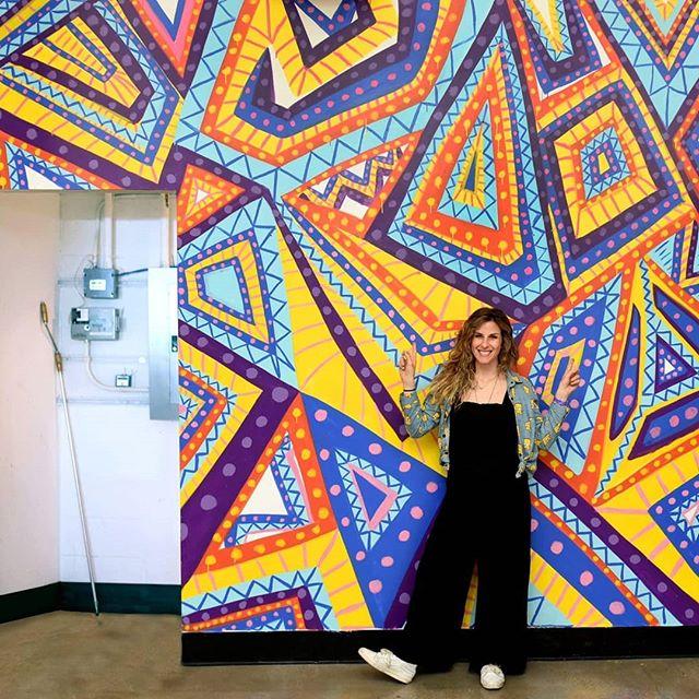 Lizzy Layne's awesome mural painted for the@zimmermuseumin LA! 📸:@elaineleephotographyand@vivienphotos#weallplay2018#giftofplay @lizzylayneart