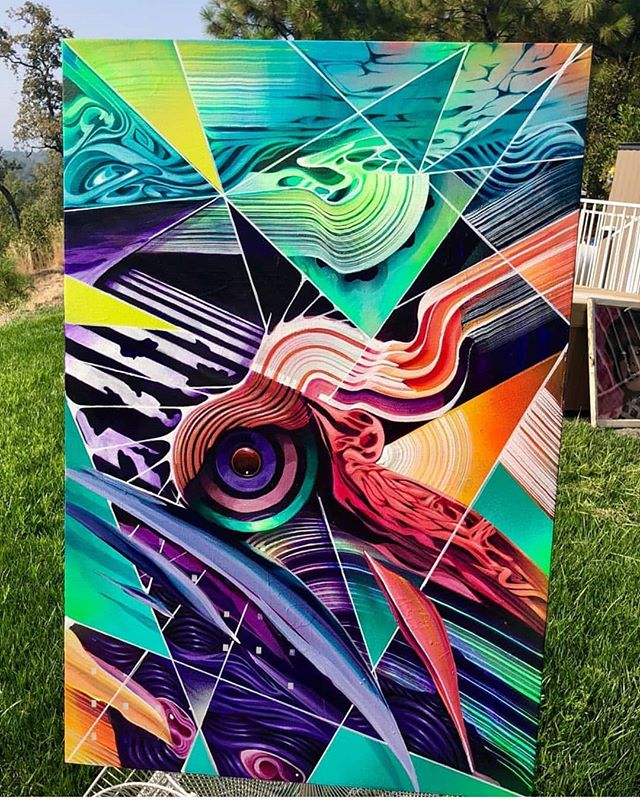 "Perch by Des10 (@des10art) 24"" x 36"" 