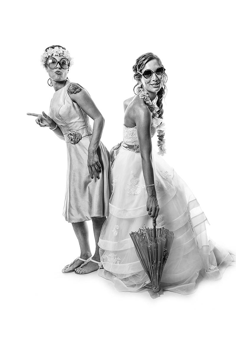 Sara e Andrea, photobooth Negrar