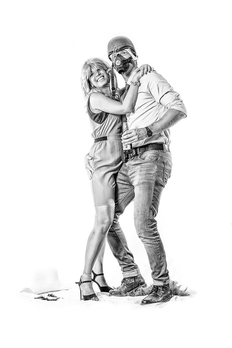 Selene e Daniele / photobooth Cagliari