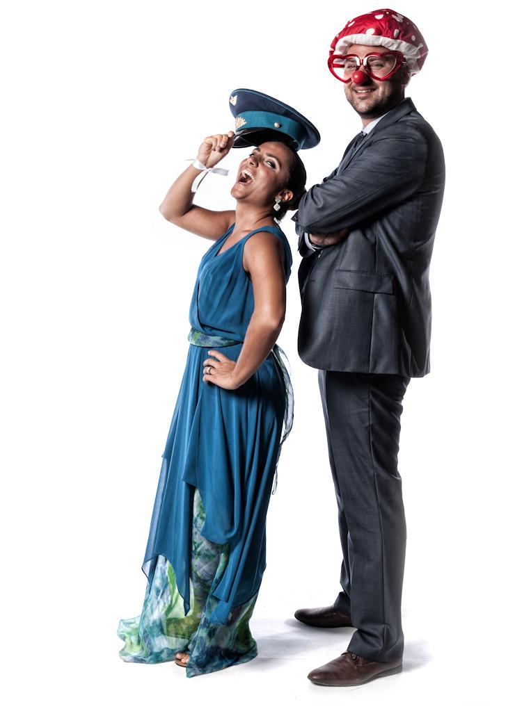 Gloria&Luca #PhotoboothChiaLaguna