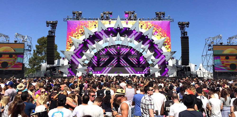 Future Music Festival - Stage Management
