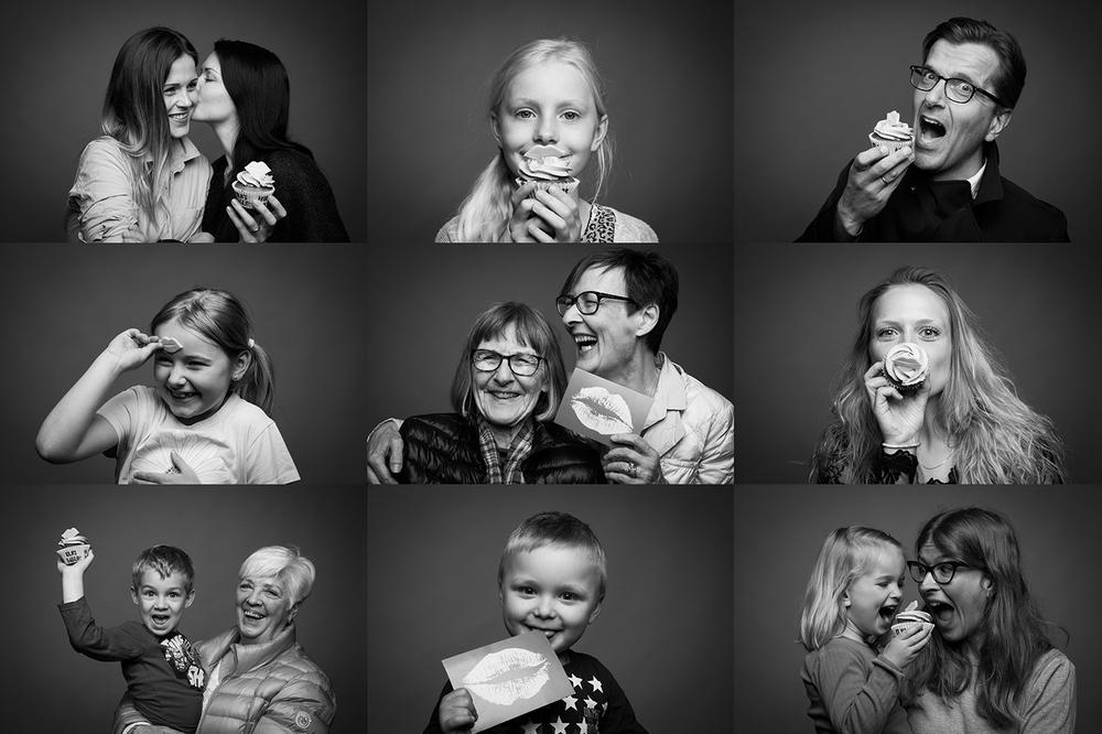 Kys Sclerose farvel portrætter