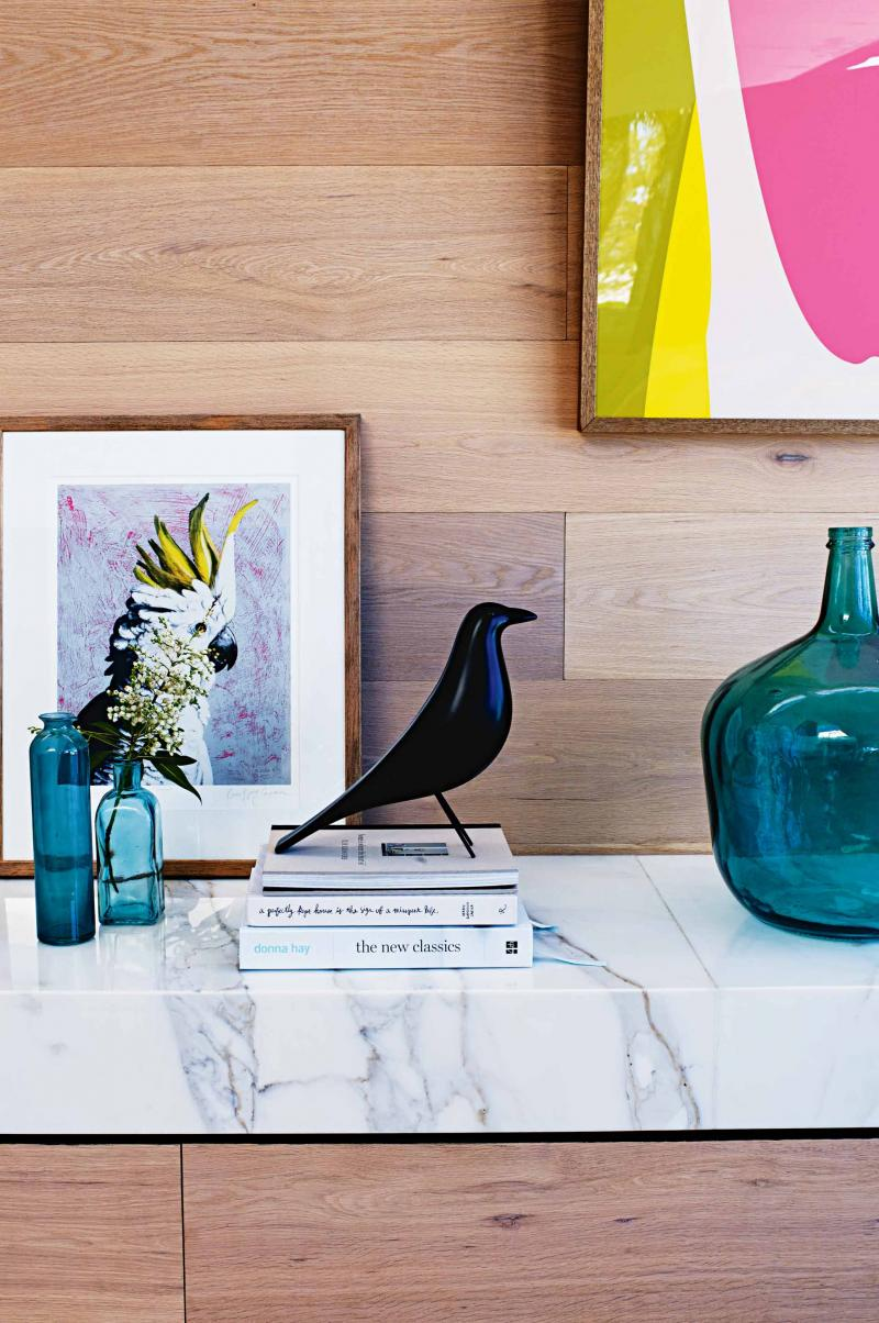Clean contemporary home in Sydney's northern beaches via Inside Out