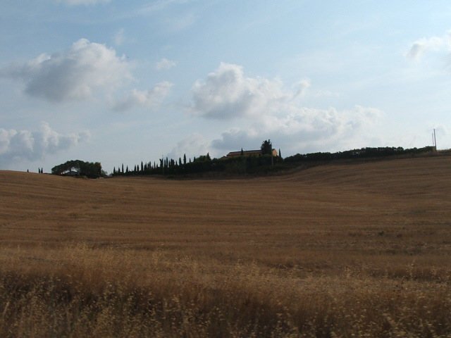 A dollop of Europe? We took this pic of the Italian countryside from the car window... oh dear.