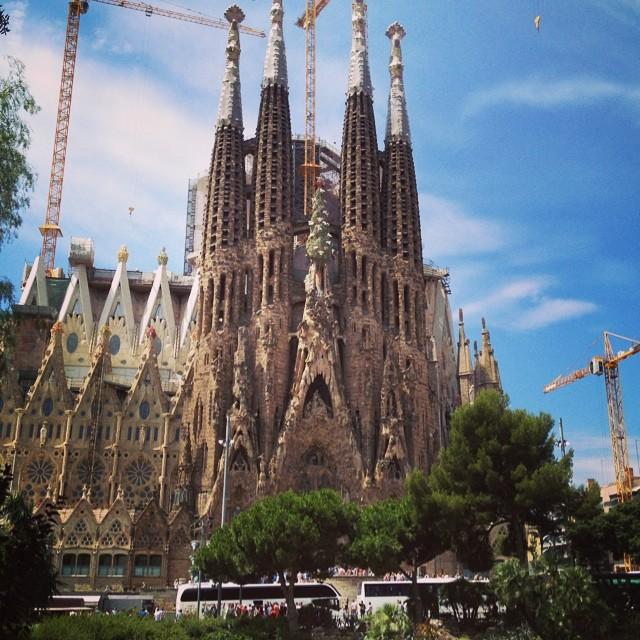Gaudi's La Sagrada - Barcelona