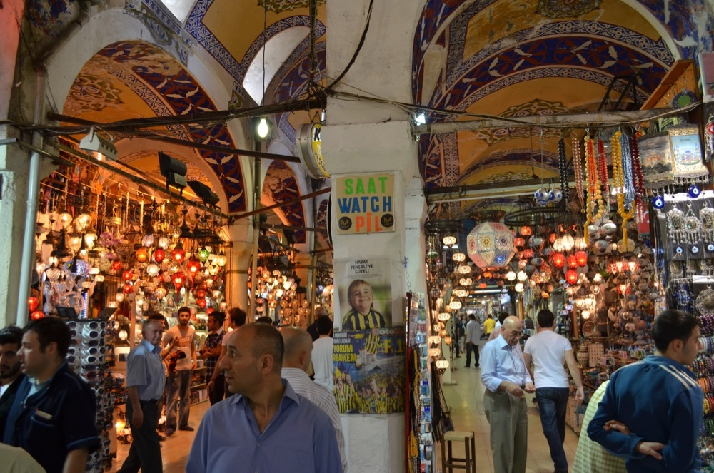 Who doesn't love a good market rummage! The Grand Bazaar in Istanbul is a market-lovers dream