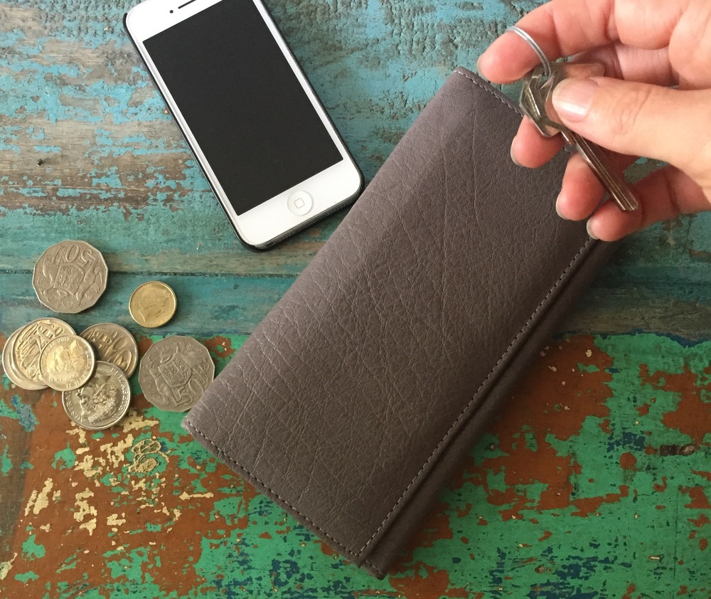 Get this  classic grey leather wallet  in your mum's hands! It's soft as silk and full of the card slots and pockets you know she wants :)