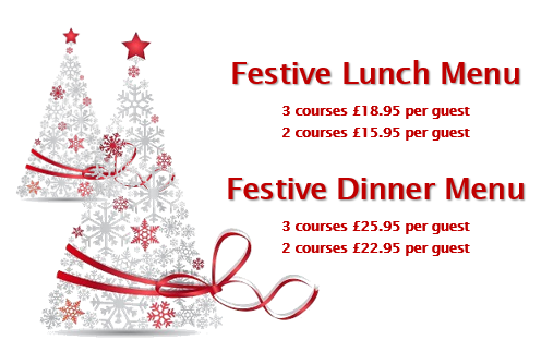 - Click the image to view our menus