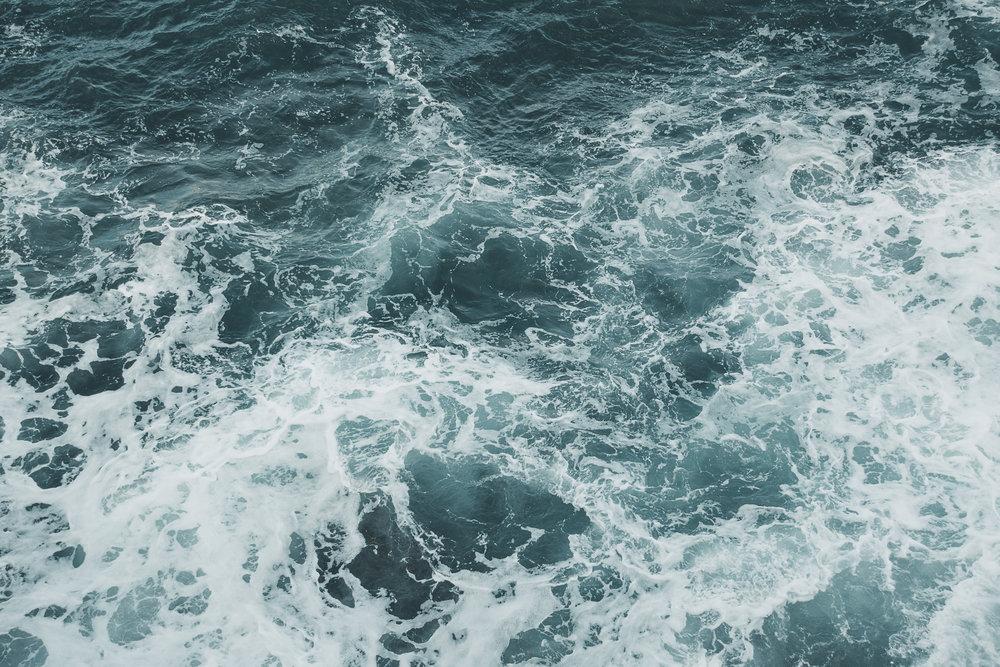 Autumnal ocean