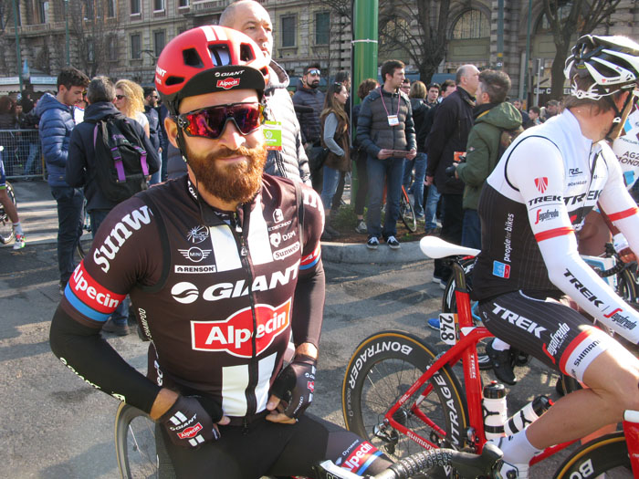 Even if Giant-Alpecin's Simon Geshke has the hippest look in the peloton, the bearded German can back it up, as he won a stage in the 2015 Tour de France, beard and all