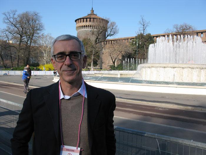 Pier Bergonzi,editorial director of  La Gazzetta dello Sport