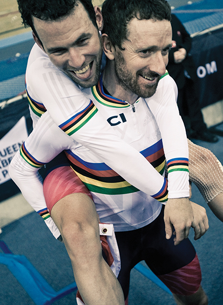 Chris Auld :  World Track Championships  in issue 10